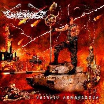 Review: Horncrowned - Satanic Armageddon :: Klicken zum Anzeigen...