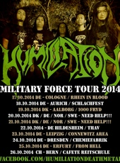 MILITARY FORCE TOUR 2014 :: Supported by Hell-is-open.de :: klicken f�r mehr Info...