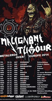Malignant Tumour - Metaleros over Europe :: Supported by Hell-is-open.de :: klicken f�r mehr Info...