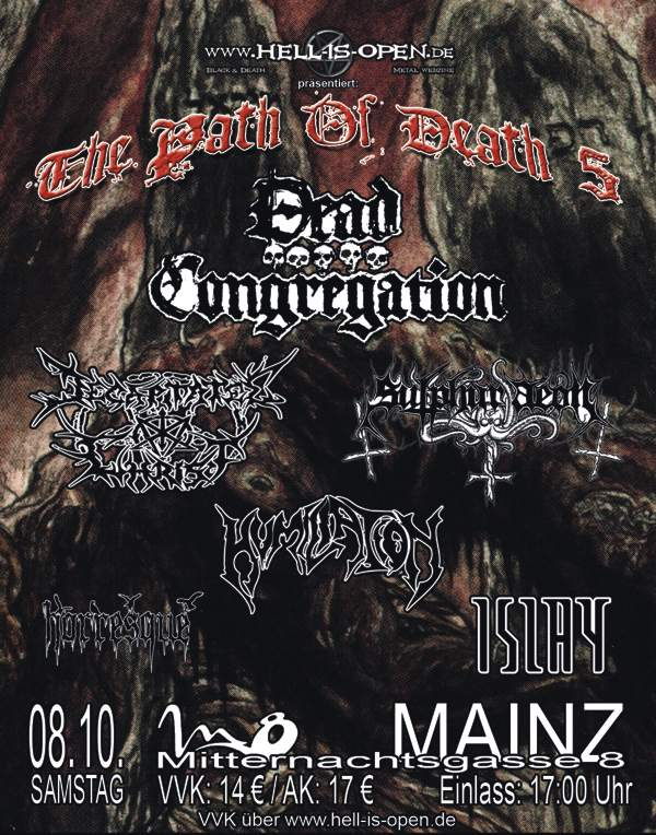 path of death 5 flyer
