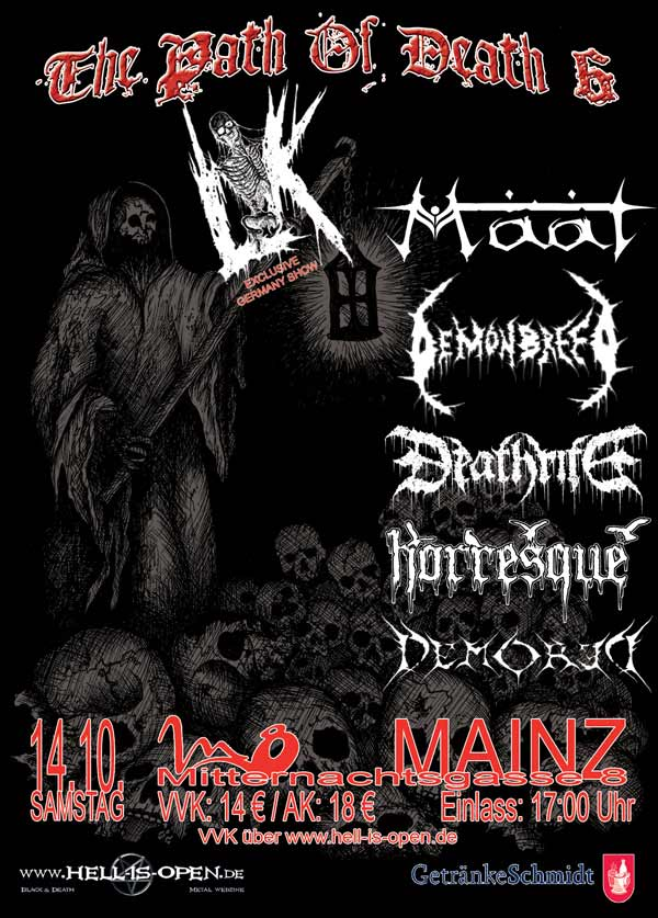 path of death 6 flyer