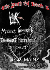 Path of Death &, Mainz 2017 :: Supported by Hell-is-open.de :: klicken für mehr Info...