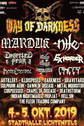 Way of Darkness 2019 :: Supported by Hell-is-open.de :: klicken für mehr Info...