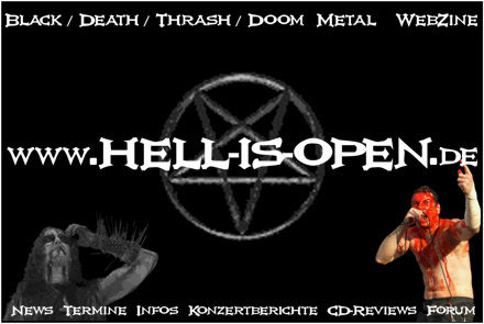 Hell-is-open.de Aufkleber