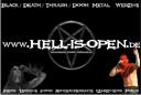 Merchandise von hell-is-open.de: Aufkleber