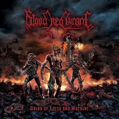 Review: Blood Red Throne - Union Of Flesh And Machine :: Klicken zum Anzeigen...