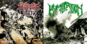 humiliation / savage deity  - devastation / warcrime (split ep)