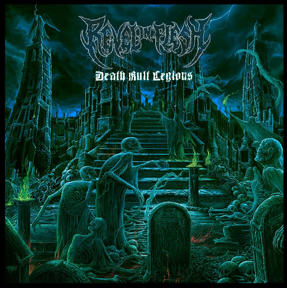 Review: REVEL IN FLESH  - Death Kult Legions  :: Genre: Death Metal