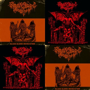 black blood invocation - black blood invocation + atavistic offerings to the sabbatic goat