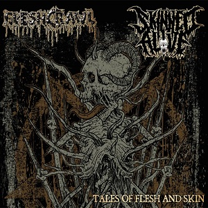 Review: Fleshcrawl / Skinned Alive - Tales of Flesh and Skin :: Klicken zum Anzeigen...