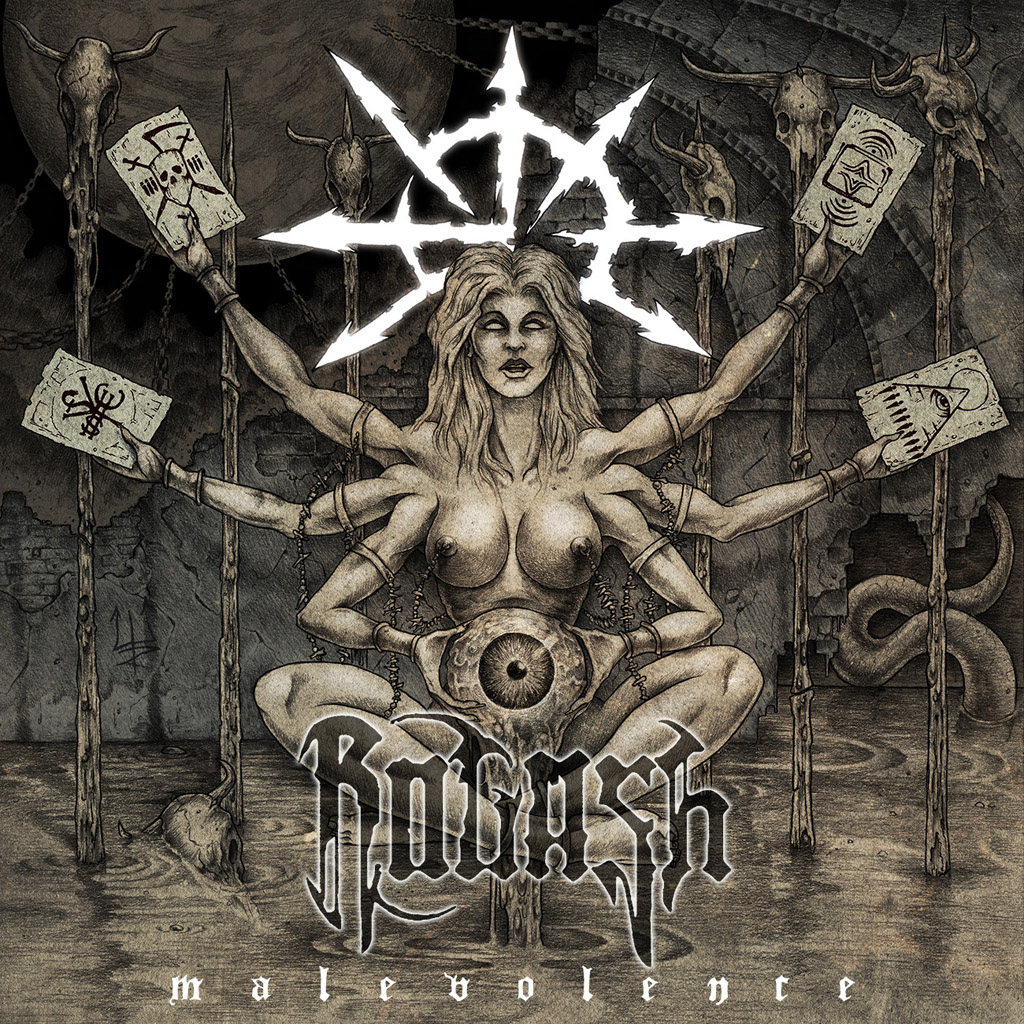 Review: Rogash - Malevolence  :: Genre: Death Metal