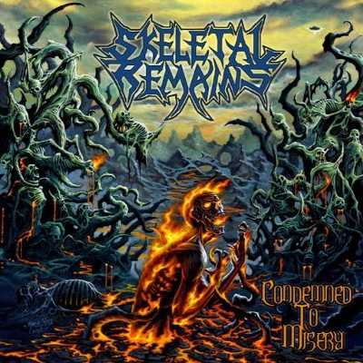 Review: SKELETAL REMAINS  - Condemned To Misery :: Klicken zum Anzeigen...