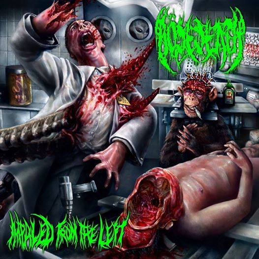Review:  Bösedeath - Impaled from the Left  :: Klicken zum Anzeigen...