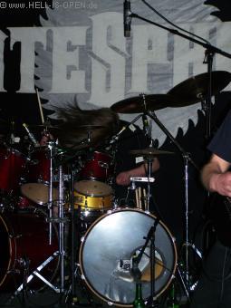 Mattenschwinger an den Drums