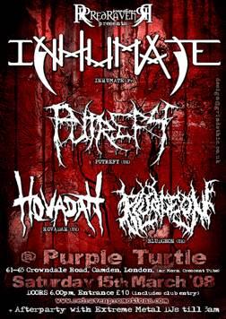 INHUMATE Flyer