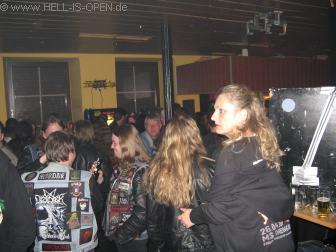 Aftershow Party in der Rockkneipe Florinsmarkt Rechts Veranstalterin Petra