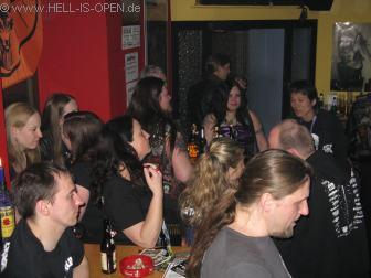 Aftershow Party in der Rockkneipe Florinsmarkt ASPHYX, VENDETTA, DESASTER und viele andere Bands tummelten sich zu später Stunde