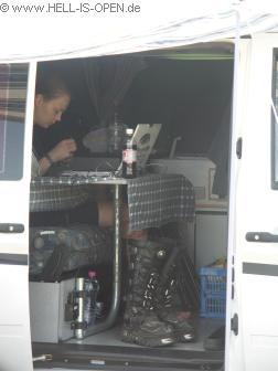 Fotomädel aus Holland im Luxusbus...