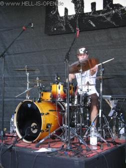 ear-O-tation Das drumming von Tom wie immer tadellos