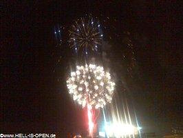 Feuerwerk beim With Full Force 2008