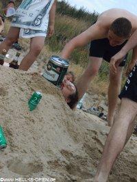 Strandspielereien
