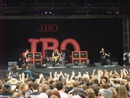J.B.O. auf der Hauptbühne