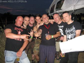 HIO mit KRONOS und anderen Fans