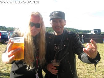 Karl Willets von BOLT THROWER mit Pit von hell-is-open