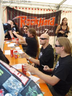 LEGION OF THE DAMNED Autogrammstunde