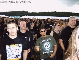 Publikum bei HAIL OF BULLETS
