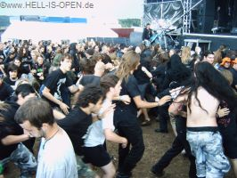 Circlepit bei LIVIDITY