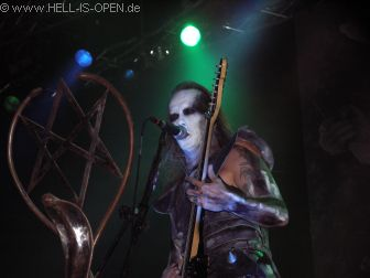 Sänger Nergal von BEHEMOTH