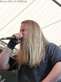 Lay Down Rotten rocken das Zelt