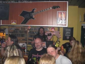 Nach dem Metal Cruise ging es nochmal zur Rockbar am Florinsmarkt denke dass die meisten Personen euch bekannt sein dürften ;-)