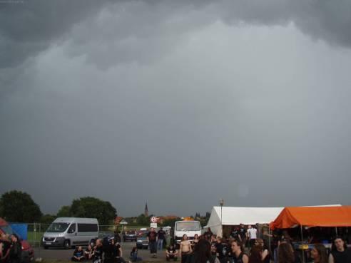 Kurz vor dem Monsun