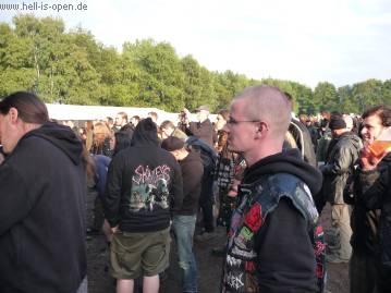 Vor der Bühne bei Purgatory