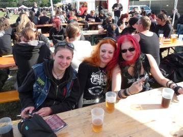Jessie, Eva und Katia aus England