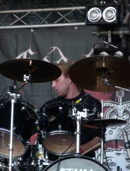 Roel der neue/alte Drummer bei God Dethroned