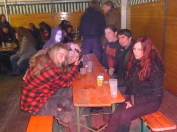 Ein paar Freaks aus Hessen mit Blackie und Sandra