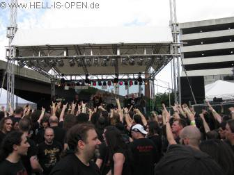 Circlepit bei Hail of Bullets