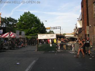 Eingang zum Maryland Death Fest