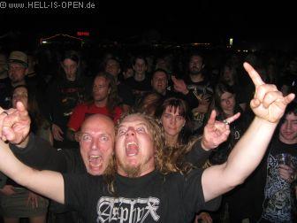 Beigeisterte HIO Fans bei Deströyer 666