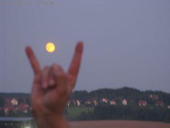Mittwoch Selbst der Mond ist Evil