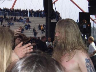 Johan bedankt sich bei seinen Fans