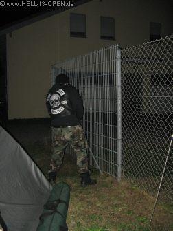 HIO auf dem Campingplatz am Pavillon