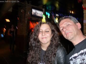 Pit und Sumy im Big Red Pub
