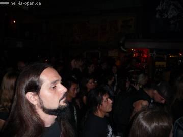 Publikum während des Gigs