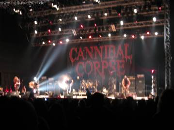 Cannibal Corpse als Headliner am Samstag