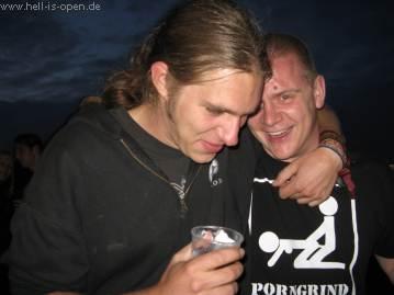 John & Lu bestens gelaunt