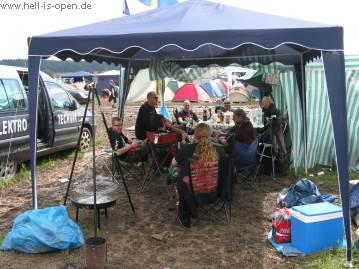 HIO Camp am Samstag mittag